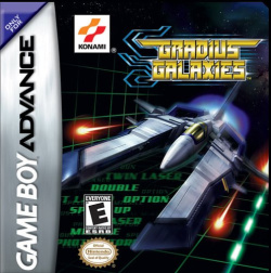 Box artwork for Gradius Galaxies.