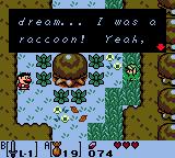Zelda LA Mysterious Forest raccoon Tarin.png