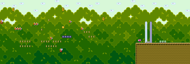 super mario world  forest secret area  u2014 strategywiki  the video game walkthrough and strategy