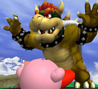 Bowser, Mario's nemesis