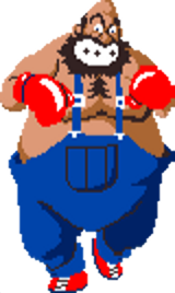 Super Punch Out Bear Hugger Strategywiki The Video