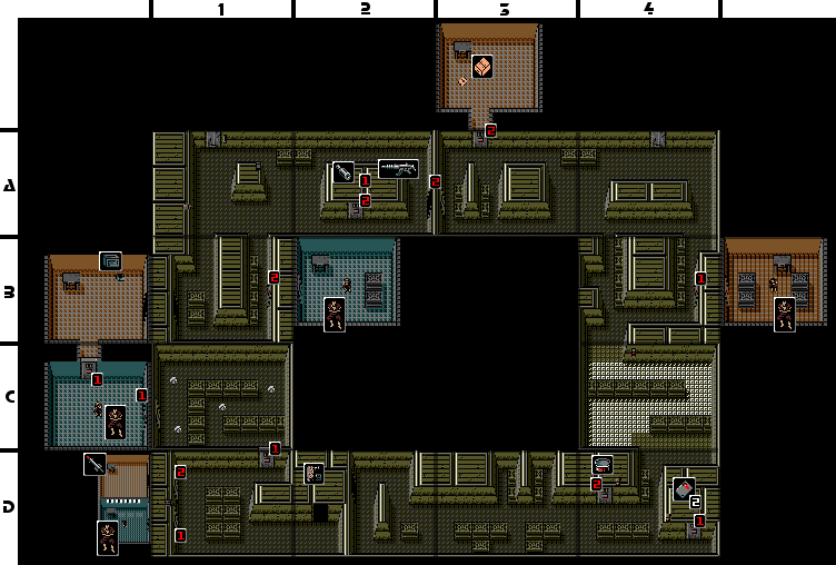 Metal Gear B1 Floor 3 Strategywiki The Video Game