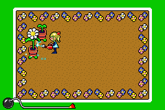 WarioWare MM microgame Flower Shower.png