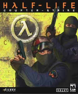 Box artwork for Counter-Strike.