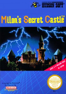 Box artwork for Milon's Secret Castle.