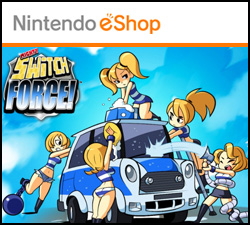Box artwork for Mighty Switch Force.