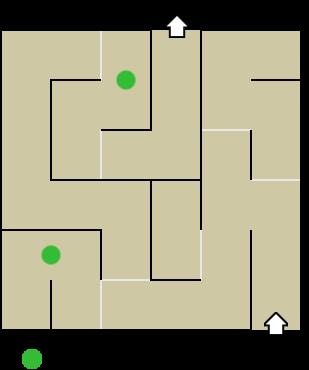 Carnival Funhouse: Maze map