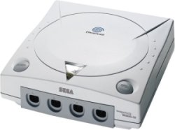 The console image for Sega Dreamcast.