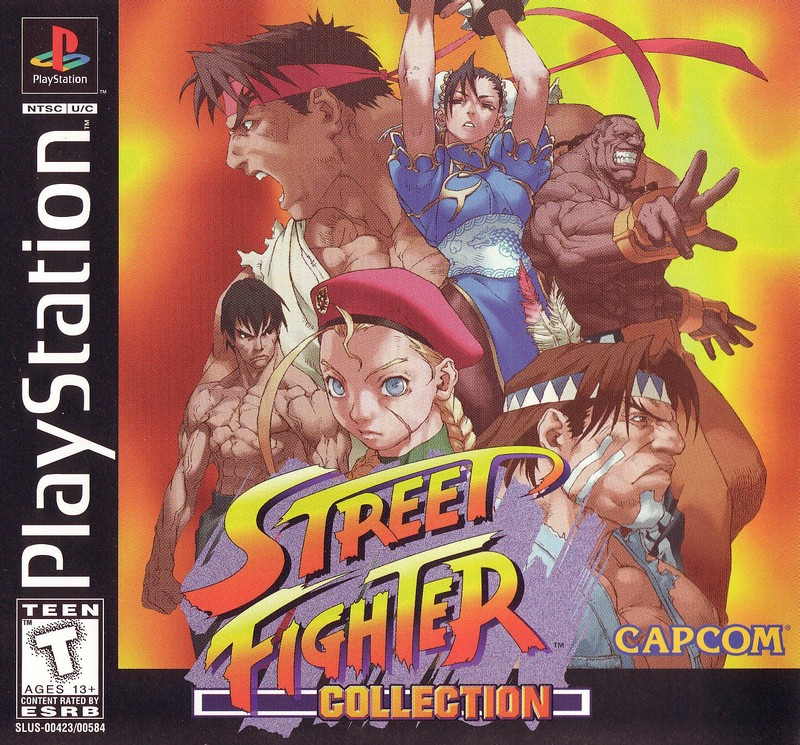 Box artwork for Street Fighter Collection.