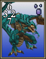 FFVIII Blue Dragon monster card.png