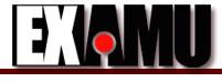 Examu's company logo.