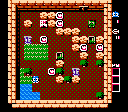 Adventures Of Lolo Floor 6 Strategywiki The Video Game
