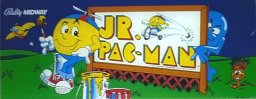 Jr. Pac-Man marquee