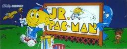Jr. Pac-Man marquee