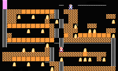 Super Lode Runner 2P level14.png