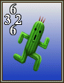 FFVIII Cactuar monster card.png