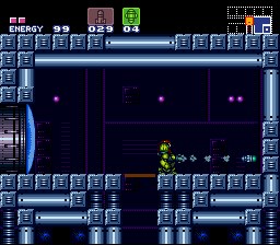 Super Metroid Walkthrough Brinstar Elevator Room Kraid.png