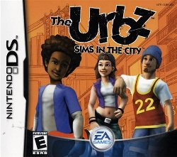 Box artwork for The Urbz: Sims in the City.