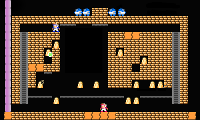 Super Lode Runner 2P level15.png