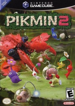 Box artwork for Pikmin 2.