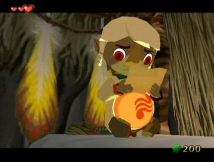 The Legend Of Zelda The Wind Waker Dragon Roost Island