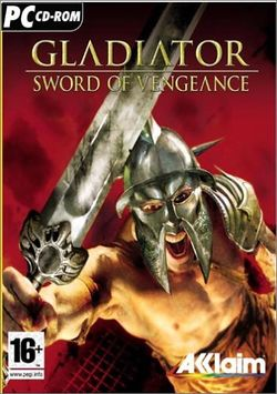 Box artwork for Gladiator: Sword of Vengeance.