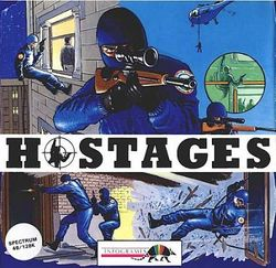 Box artwork for Hostages.