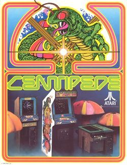 Box artwork for Centipede.