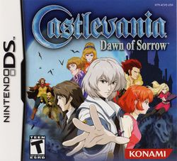 Box artwork for Castlevania: Dawn of Sorrow.
