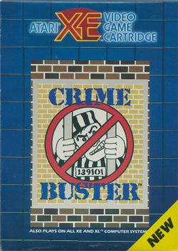 Box artwork for Crime Buster.