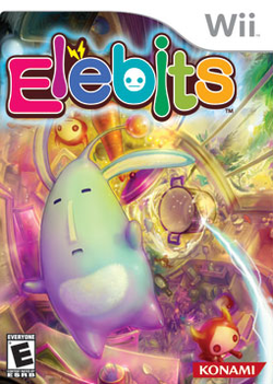 Box artwork for Elebits.