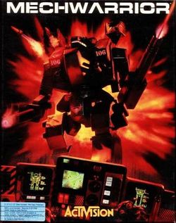 Box artwork for MechWarrior.