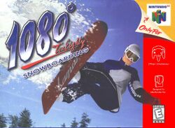Box artwork for 1080° Snowboarding.