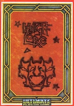 Box artwork for Knight Lore.