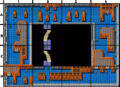 Metal Gear NES map B1 Rooftop.png