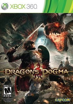 Box artwork for Dragon's Dogma.