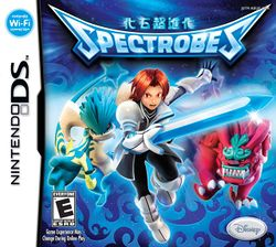 Box artwork for Spectrobes.