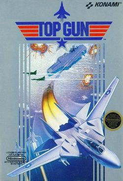 Box artwork for Top Gun.