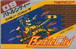 Box artwork for Battle City.
