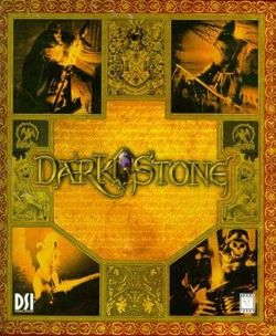 Box artwork for Darkstone.