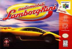 Box artwork for Automobili Lamborghini.