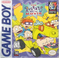 Box artwork for The Rugrats Movie.