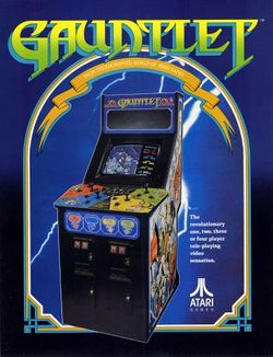 Box artwork for Gauntlet.