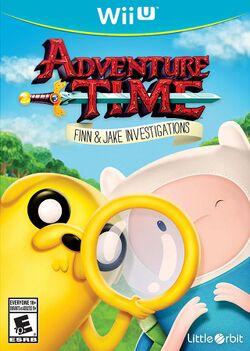 Box artwork for Adventure Time: Finn & Jake Investigations.