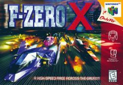 Box artwork for F-Zero X.