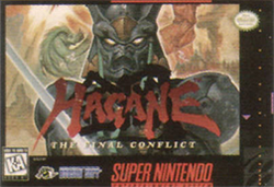 Box artwork for Hagane: The Final Conflict.