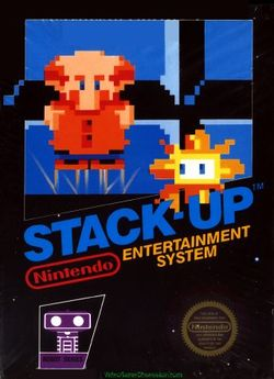 Box artwork for Stack-Up.