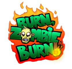 Box artwork for Burn Zombie Burn.
