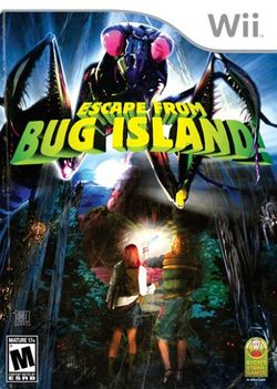 Box artwork for Escape From Bug Island.