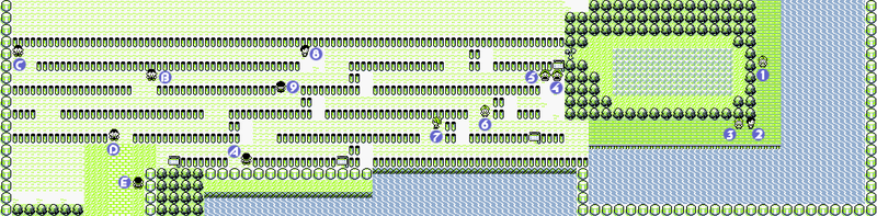 how to get to route 9 in pokemon red